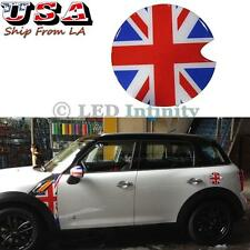 1pc Union Jack UK Flag Pattern Vinyl Sticker Decal For Mini Cooper Gas Cap Cover