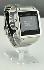 New Stylish 100% Original Men Watch GUESS Silver Stainless Steel Digital U0596G1