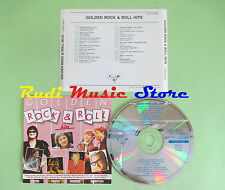 CD GOLDEN ROCK & ROLL HITS compilation BILL HALEY JERRY LEE LEWIS (C22) no mc lp