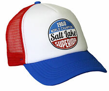 Salt Lake Race Hot Rod Trucker Mesh Cap V8 US Car Old School Retro Vintage Mütze