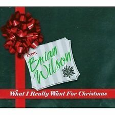 Brian Wilson What I Really Want For Christmas CD NEW SEALED 2005 Beach Boys