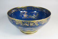 Antique Spode Copeland's Powder Blue Lustre Bowl