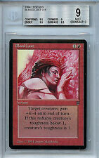 MTG Legends Blood Lust BGS 9.0 (9) Mint card Magic Gathering WOTC 4712