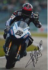 Alex Lowes Hand Signed 12x8 Photo Suzuki MOTOGP, BSB 7.