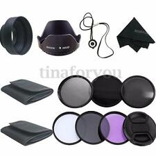 58MM UV CPL Polarizer ND2 4 8 Filter Kit For Canon EOS 600D 700D 750D 1200D Lens