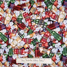 Man of the House Fabric - Packed Beer Bottles Alcohol - Dan Morris RJR YARD