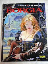 Los Borgia num.2,Manara & Jodorowsky,Ed.Norma 2005
