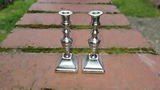 Silver Plated small Pair Candlesticks