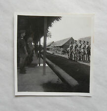 Vintage 40s/1948 B/W Photograph. British Soldiers on Guard in Malaya District #8