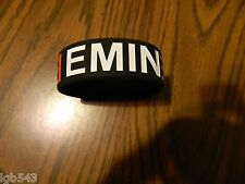 New-  Eminem logo Rubber Wristband Bracelet / one piece slip on style