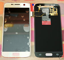 GENUINE GOLD SAMSUNG SM-G930F GALAXY S7 SCREEN AMOLED 2k LCD DISPLAY NoAdhesive