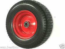 """16""""X 6.50 X 8  SOLID  WHEEL WITH 8"""" STEEL RIM, 25mm BORE BEARINGS(Brand New)"""