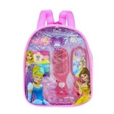 DISNEY PRINCESS HAIR ACCESSORIES BACKPACK BOBBLES CLIPS COMB