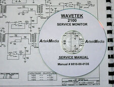 WAVETEK 2100 Service Monitor: Service Manual