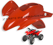 NEW HONDA TRX 300EX FIGHTING RED PLASTIC CUSTOM FRONT FENDER TRX300EX
