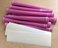 12 Grip tapes and 12 Karma PINK Lady Velvet Golf Grips