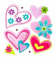 Dekosticker Herzen Herz Deko Sticker Wandbild Wandtatoo Wand Tatoo Kinderzimmer