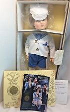"Kingstate Prestige LE #12/3500 Gentlemen Arther Sailor 15"" Porcelain Bisque Doll"