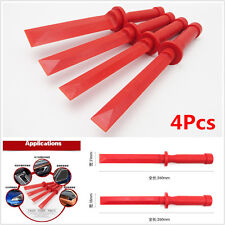 4Pcs Car Door Plastic Panel Trim Dash CD Audio Taillight Lamp Removal Pry Tools