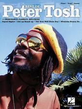 NEW Best of Peter Tosh by Paperback Book (English) Free Shipping
