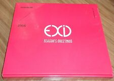 EXID 2016 SEASON SEASON'S GREETINGS CALENDAR + NOTE + POSTCARD SET SEALED