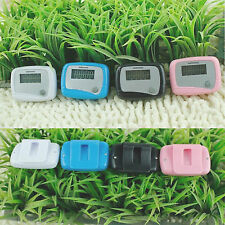 New LCD Digital Pedometers Walking Running Step Distance Calorie Counter Handy