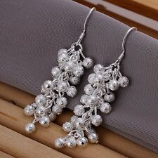 925 Sterling Silver Drop Dangle Chandelier Hook Earrings L14