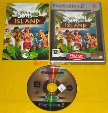 THE SIMS 2 ISLAND Ps2 Versione Ufficiale Italiana Platinum »»»»» COMPLETO