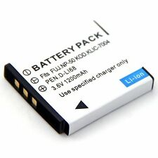 Battery for Fujifilm NP-50 NP-50A 15764041 NA00210A BC-50 BC-50A 15764118
