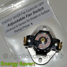 Earth Stove ENERGY SAVER Low Limit Disc Switch repl. #11565 F110  + Instructions