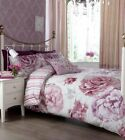ILONA PLUM CREAM DOUBLE DUVET SET CURTAINS OR CUSHION COVER CATHERINE LANSFIELD
