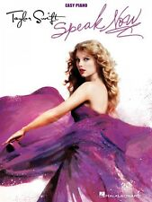 Taylor Swift Speak Now Sheet Music Easy Piano Book NEW 000307243