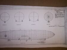 USS LOS ANGELES airship model plans