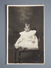 R&L Postcard: Edwardian Fashion Clothes, Portrait of Baby Toddler Child