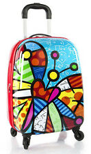 "Heys Britto 20"" Spinner Luggage Carry On Tween Suitcase - Butterfly NEW"