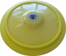 """7 Inch Lake Country 5/8"""" x 11 Flexible Rotary Hook & Loop Backing Plate 43175"""