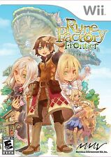 Rune Factory: Frontier (Nintendo Wii, Video Game Kids Harvest Moon Fun Cute) NEW