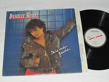 DANIELLE MESSIA De La Main Gauche LP 1982 Barclay Records Canada Vinyl GD+/VG+