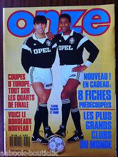 ONZE N°135; Interview Albert de Monaco/ Copa Brasil/ Careca/ Torpedo/ Bordeaux