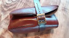 4 Slots  Brown Pouch  Case Travel storage Leather Watch Roll mens hand made usa