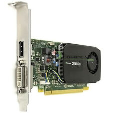 4K Support Nvidia Quadro K600 1GB DDR3 PCIe x16 DVI DP Video Card 03T8315 IBM
