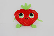 "New Cloudy with a Chance of Meatballs 2 Plush Strawberry Barry Berry tag 8"" Gift"