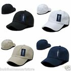 New DECKY Washed Cotton Polo Style Flex Fitted Baseball Hats Hat Caps Cap Unisex