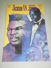 VINTAGE COMIC- CELEBRITY COMICS-#2 BO JACKSON VS. MICHAEL JORDAN- 1992- NEW - L8