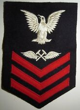 WW2 USN 1st Class Aviation Metalsmith's Mate Wool Rate - Metal Smith