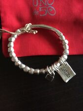 Uno De 50 Healthy Beaded Bracelet - NWT