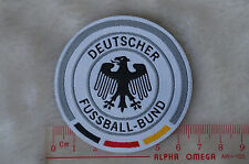 kiTki Germany soccer football team iron-on embroidered patch emblem applique