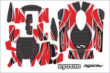 Kyosho #36271r aufklebersatz pour contrôle à distance kt-200 kt-201 NEUF