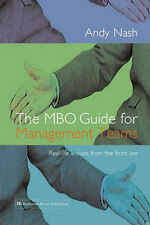 The MBO Guide for Management Teams: Real-life Lessons from the Front Line,Andy N