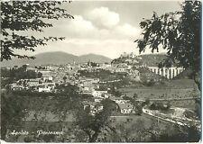 SPOLETO - PANORAMA + TARGHETTA FESTIVAL DEI DUE MONDI (PERUGIA) 1959